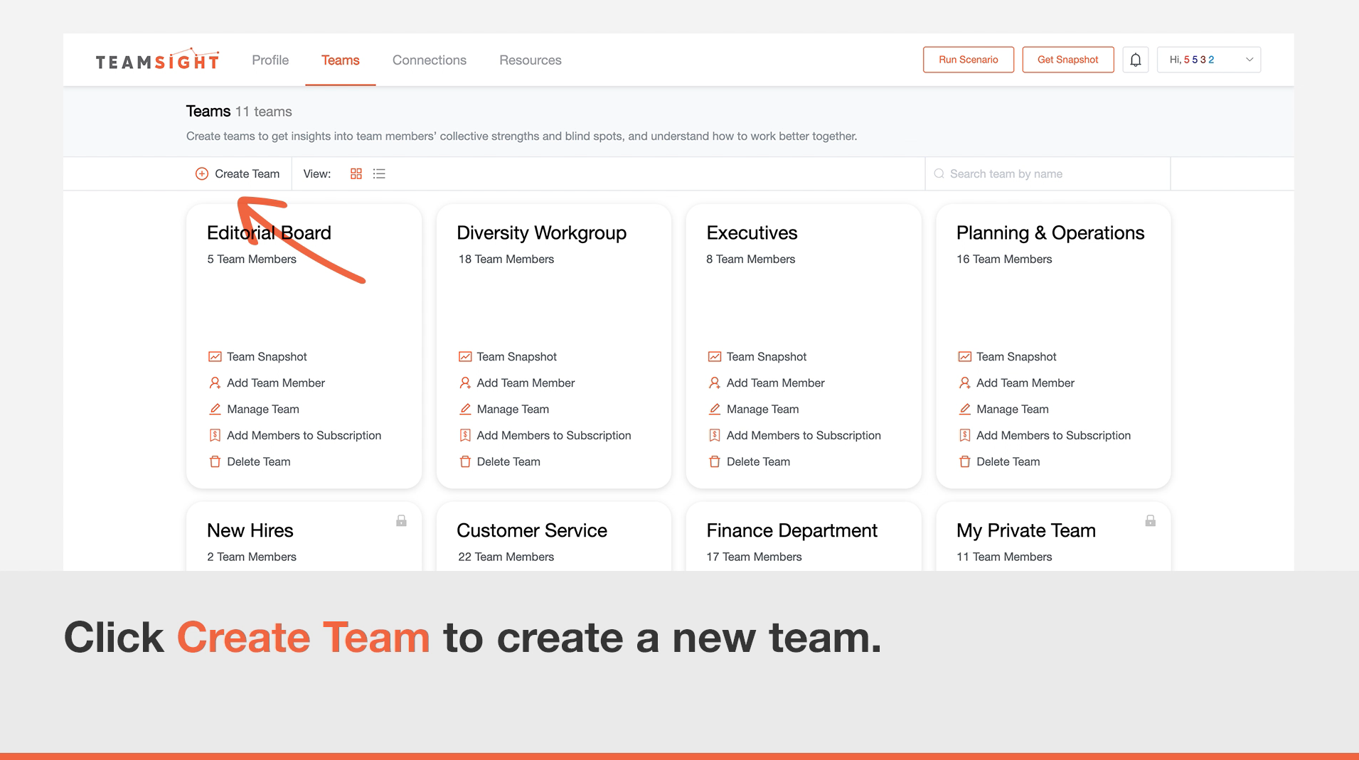 """Featured image for """"Create a team"""""""